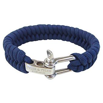 Tyler and Tyler Woven Bracelet - Navy