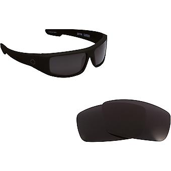LOGAN Replacement Lenses Polarized G-15 Grey Green by SEEK fits SPY OPTICS