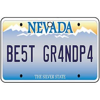 Nevada - beste opa License Plate auto luchtverfrisser