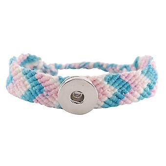 Textile Bracelet For Click Buttons Kc0632