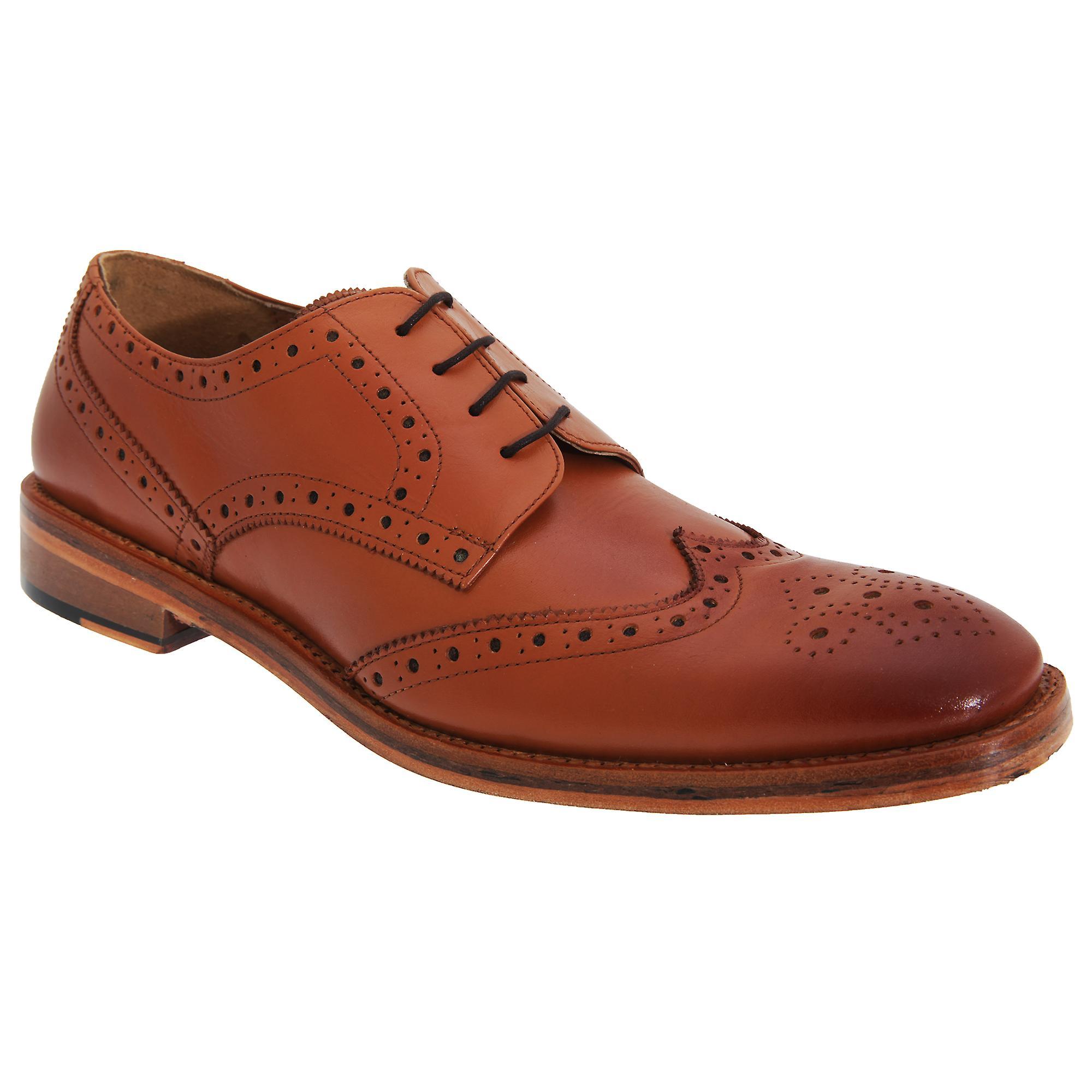 Scarpe Brogue in pelle del Cap di di di ala Gibson di Kensington classici Mens tutti | Qualità e quantità garantite  | Uomini/Donna Scarpa  586d68