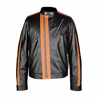 Mens Honda Cruiser Rider Leather Jacket