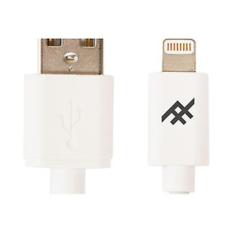 IFROGZ UNIQUE SYNC LIGHTNING CABLE 1, 8 m WHITE