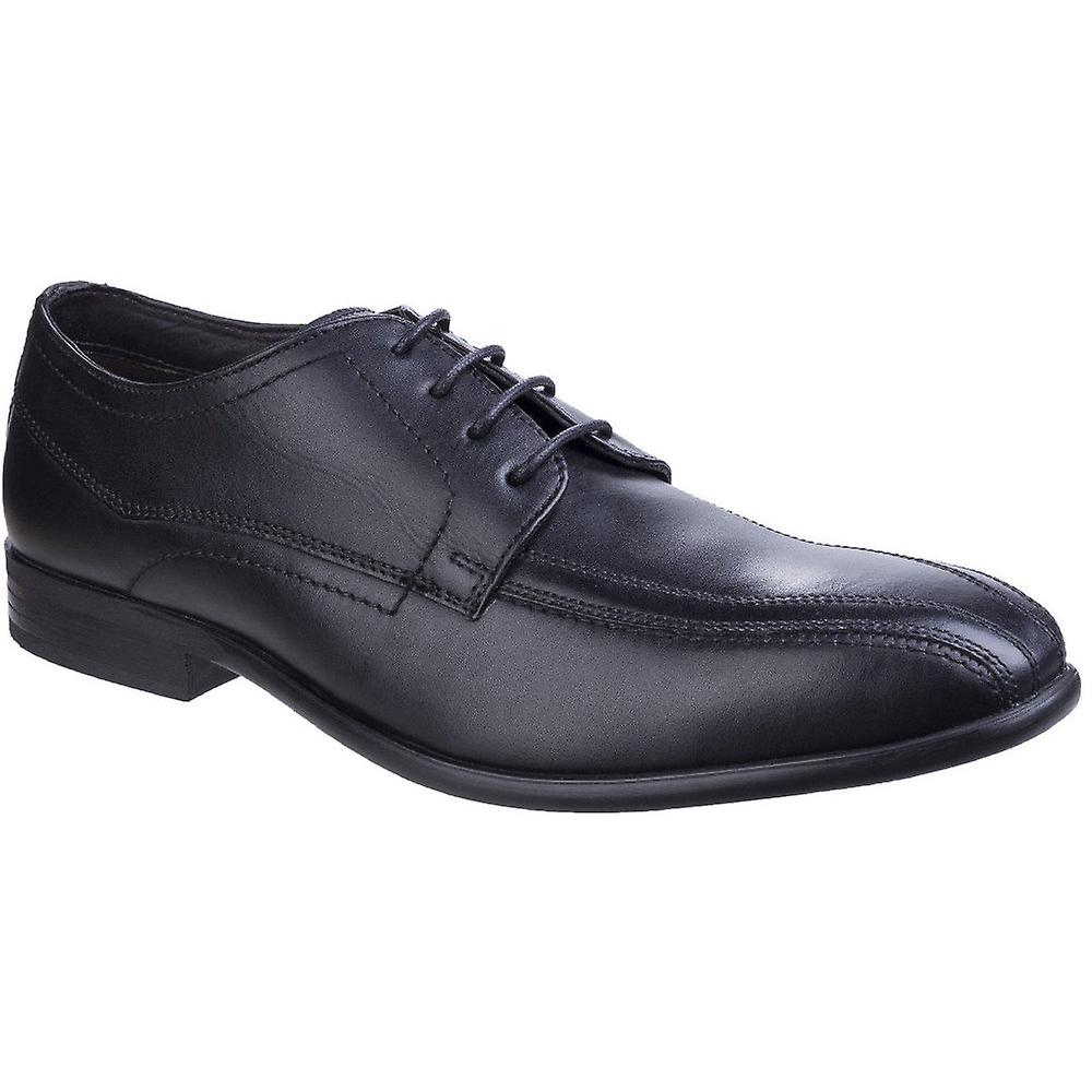 Base London Mens Gilmore Sleek Shoes Formal Waxy Leather Derby Shoes Sleek 28ddd7