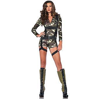 Goin Commando Military Army Soldier FBI Top Gun SWAT Women Costume