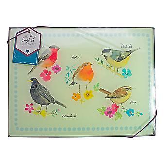 English Tableware Co. Set of 4 Garden Birds Placemats