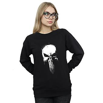 Marvel Women's Punisher Spray Skull Sweatshirt
