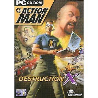 Action Man - Destruction X (PC CD) - Factory Sealed