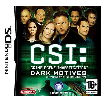 CSI Dark Motives (Nintendo DS) - Factory Sealed