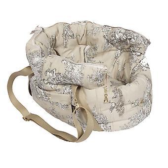 Baroque Beige Dog / Pet Carrier Bag