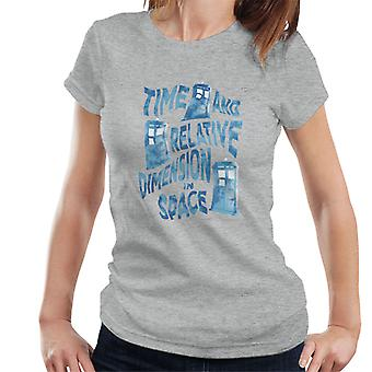 Doctor Who Warped Tardis Women's T-Shirt