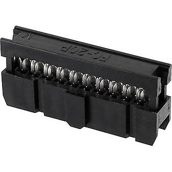 econ connect Pin connector Contact spacing: 2.54 mm Total number of pins: 16 No. of rows: 2 1 pc(s) Tray