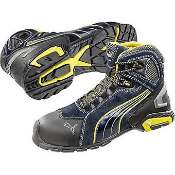 Safety work boots S1P Size: 43 Black, Blue, Yellow PUMA Safety Metro Protect 632230 1 pair