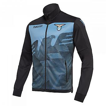 2018-2019 Lazio Macron Anthem Jacket (Blue)
