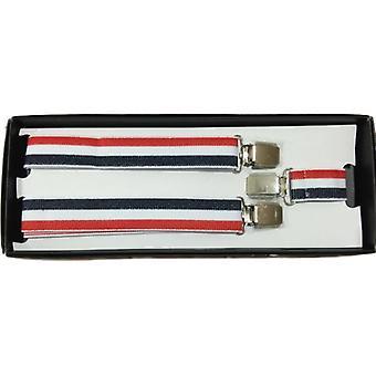 Union Jack tragen verstellbar rot-weiß-blaue Hosenträger