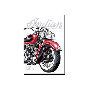 Indian Motorcycle American Muscle Fridge Magnet