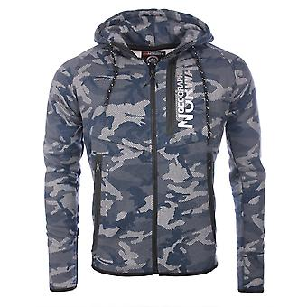 Jumpers Navy Blue Gocamo Geographical Norway Man
