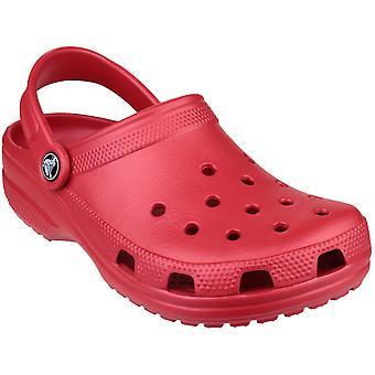 Crocs dames klassieke Unisex Croslite ademend strand klomp rood