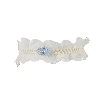 Aubade DA99 Women's A L'Amour Nacre Off-White Lace Bridal Garter