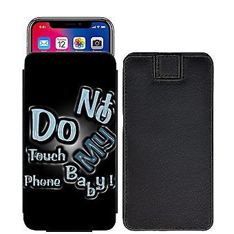لا تلمس بي الهاتف مخصص تصميم طباعة سحب علامة التبويب الحقيبة الهاتف حالة تغطية Xiaomi ريدمي المذكرة 5 (ريدمي 5 زائد) [S]--DTMF8