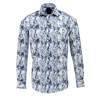 Guide London Winter Wonderland Print Mens Shirt
