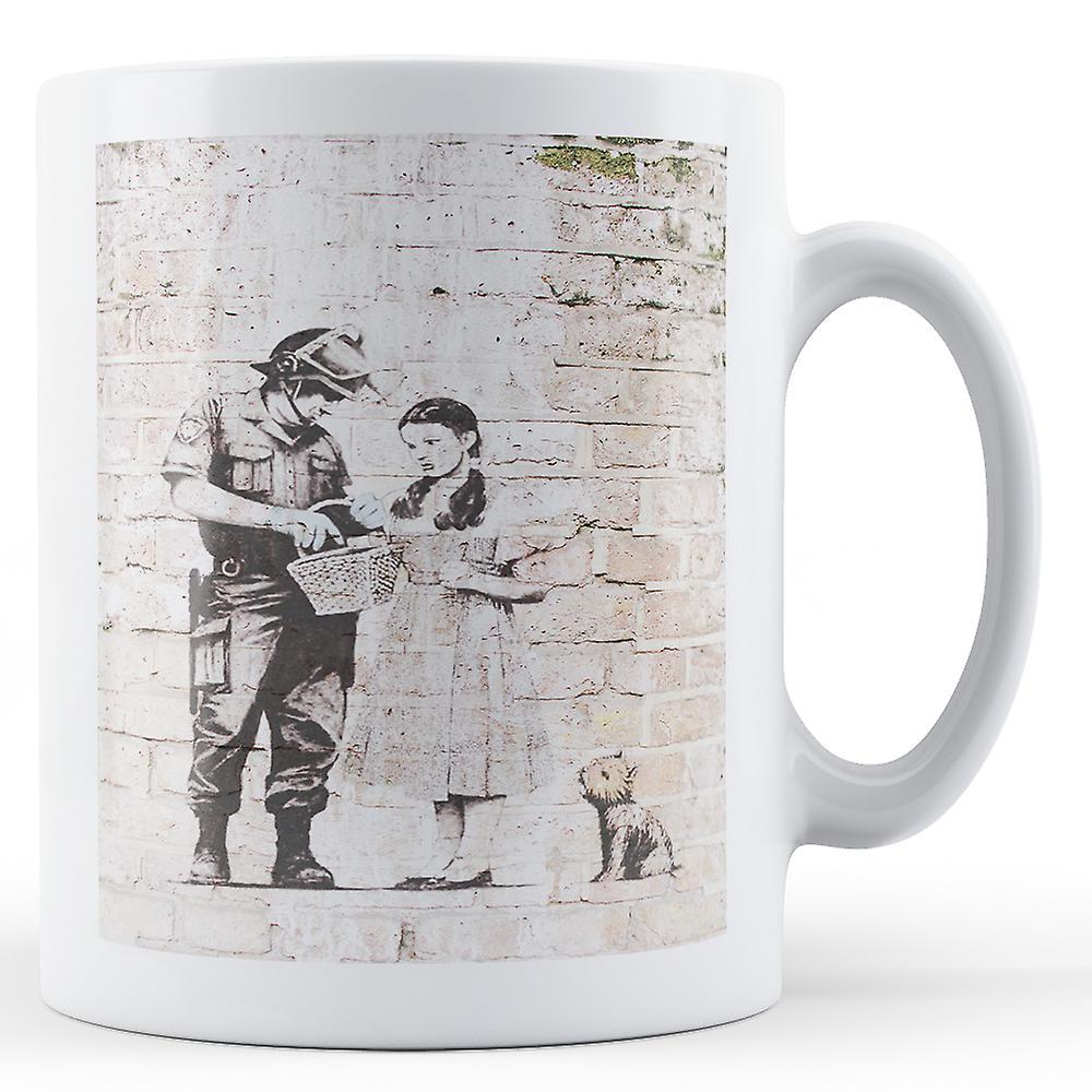 BanksyOeuvrenbsp;dorothy Mug De Panier Rechercher Doté Imprimé nbsp; WI29DHEY