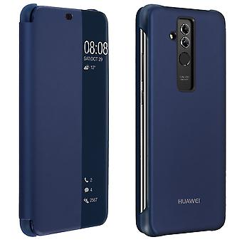 Official Huawei Smart View flip case for Huawei Mate 20 Lite - Dark blue