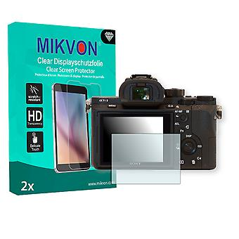 Sony Alpha 7R II Screen Protector - Mikvon Clear (Retail Package with accessories)