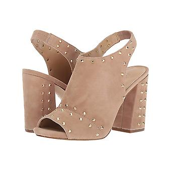 Michael Michael Kors Womens Astor cuir Peep Toe occasionnels Slingback Sandals
