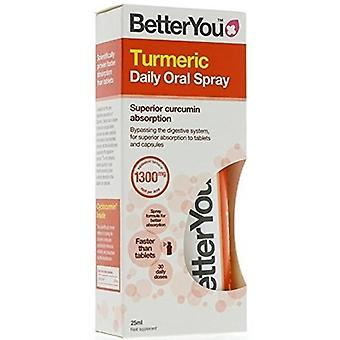BetterYou Turmeric Oral Spray 25 ml  (Vitamins & supplements , Special supplements)