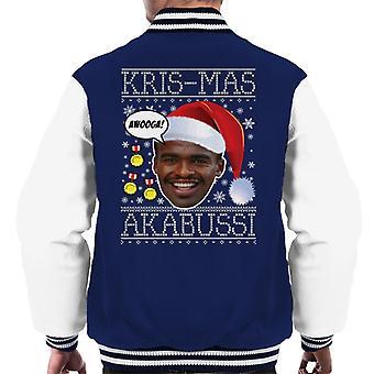 Kris Mas Akabussi Natale a maglia giacca Varsity-Uomo