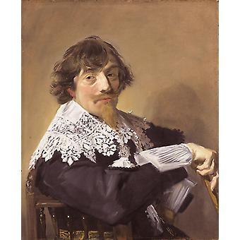 Nicolaes Hasselaer, Frans Hals, 79,5 x 66.5 cm