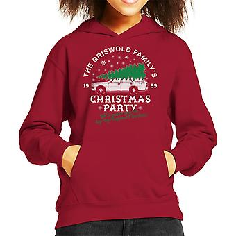 Griswold Family Christmas Party Kid's Hooded Sweatshirt