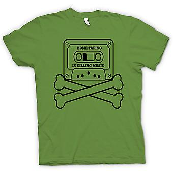 Kids T-shirt - Home Taping Piracy - Funny