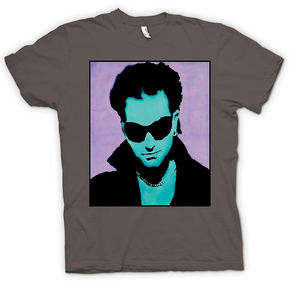 Womens T-shirt - U2 - Bono - Pop Art
