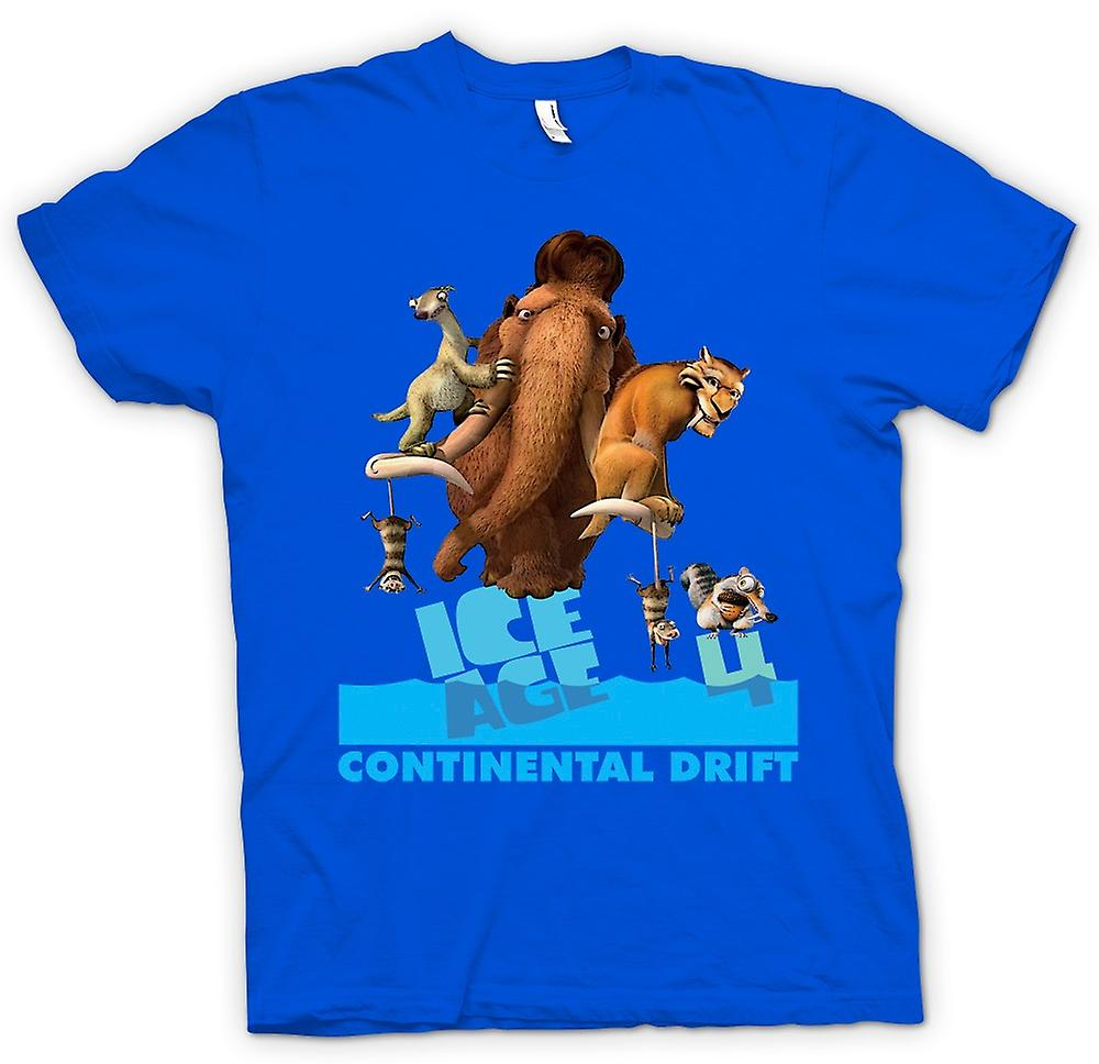 Mens T-shirt - Ice Age - Continental Drift