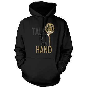 Hoodie Talk To The Hand - Funny
