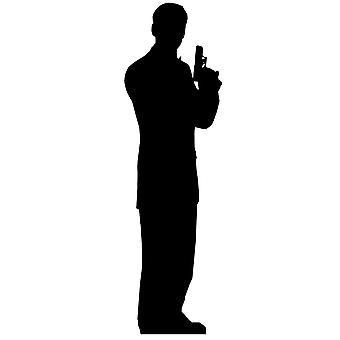 Secret Agent Male Single Pack (James Bond Style) - Lifesize Cardboard Cutout / Standee