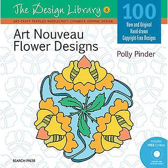 Art Nouveau Flower Designs von Polly Pinder - 9781844488414 Buch
