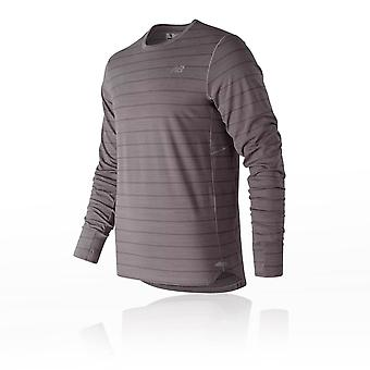 New Balance Seasonless Long Sleeve Running Top - SS19