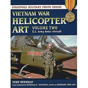 Vietnam War Helicopter Art: U.S. Army Rotor Aircraft v. 2 (Stackpole Military Photo Series)