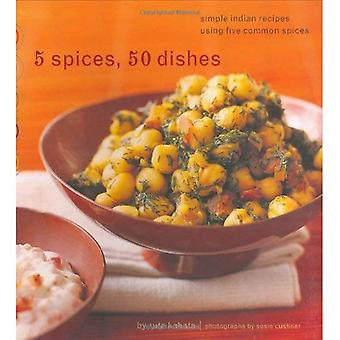 Cinco especias, cincuenta platos