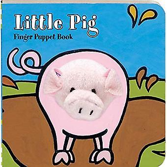 Petit livre de marionnette de doigt cochon