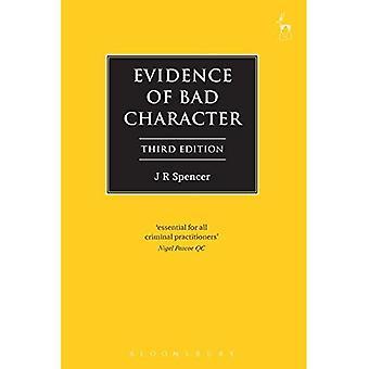 Anzeichen für schlechten Charakter (Criminal Law Library)