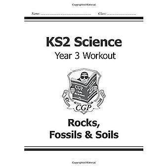 KS2 Ciencia tres ejercicios: rocas, fósiles y suelos (para el nuevo plan de estudios)