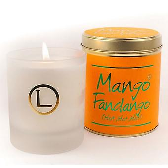 Lily Flame Scented Glassware Candle - Mango Fandango
