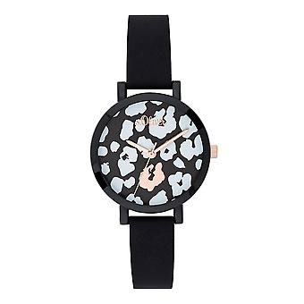 s.Oliver ladies watch wrist watch silicone SO-3728-PQ