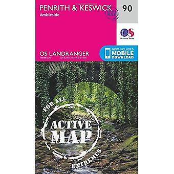Penrith & Keswick (OS Landranger Map)
