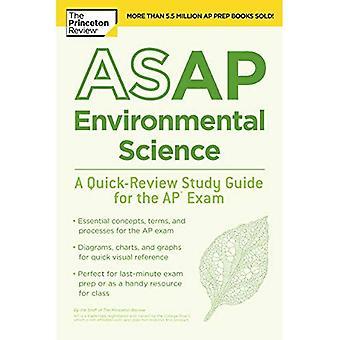 So schnell wie möglich Umweltwissenschaften: Ein Quick-Review Study Guide für die AP-Prüfung (Test Hochschulvorbereitung)