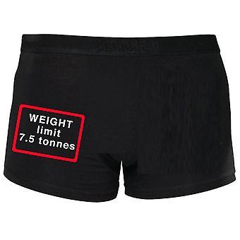 Gewicht limiet 7,5 ton Shorty Boxers